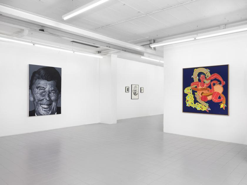 Installation view. Image © Julien Gremaud