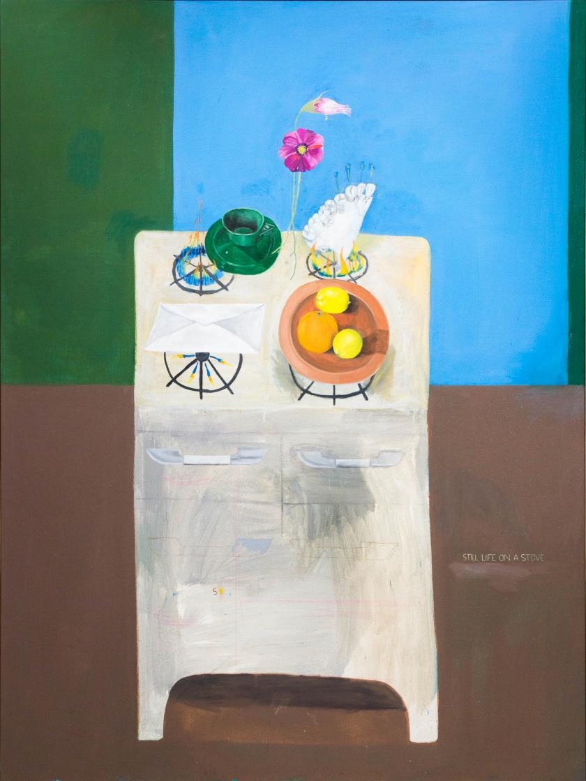 Still Life on A Stove